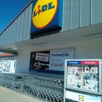 Photo taken at Lidl by Vladimíra B. on 8/27/2016