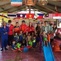 Photo taken at ศูนย์พัฒนาเด็กอนุบาลและปฐมวัยบ้านน้ำรู by Samart P. on 11/12/2014