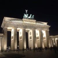 Photo taken at Brandenburg Gate by Wolfgang S. on 5/15/2013