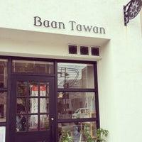 Photo taken at タイのごはんカフェ Baan Tawan by にゃり田 on 10/10/2014