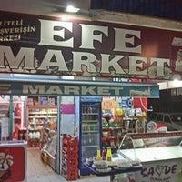 Photo taken at Efe Market by Mustafa Y. on 6/10/2016