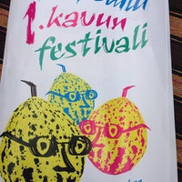 Photo taken at 1.kavun festivali by Kenan on 8/31/2014