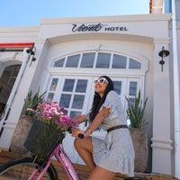 6/5/2018 tarihinde Viento Hotel Alaçatıziyaretçi tarafından Viento Alaçatı Hotel'de çekilen fotoğraf