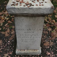 Photo taken at Paul Revere's Tomb by Jason H. on 12/7/2016