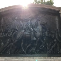 Photo taken at Robert Gould Shaw Memorial by Jason H. on 9/20/2016