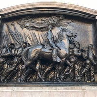 Photo taken at Robert Gould Shaw Memorial by Jason H. on 12/6/2016