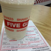 Photo taken at Five Guys by Naish M. on 10/26/2015