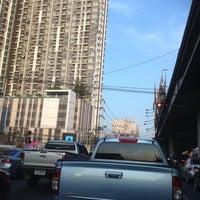 Photo taken at Khae Rai Intersection by Araya C. on 3/12/2013