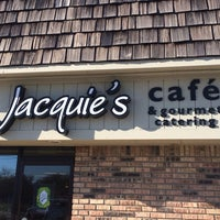 Photo taken at Jacquie's Cafe & Gourmet Catering by Ric M. on 11/13/2013