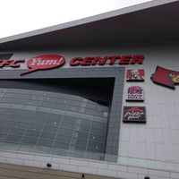 Photo taken at KFC Yum! Center by Ric M. on 5/11/2013