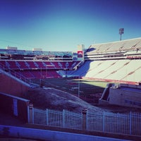 Photo taken at Donald W Reynolds Razorback Stadium by Justin S. on 1/24/2014