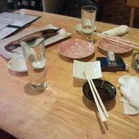 Photo taken at 串焼き やきとん とんがらし by うみ す. on 10/2/2014