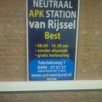 Photo taken at APK-station Van Rijssel by HEJA C. on 11/23/2012