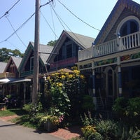 Photo taken at Martha's Vineyard Camp Meeting Association Cottages by Lauren S. on 8/10/2014