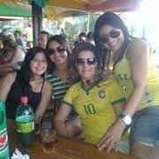 Photo taken at Quiosque Devassa by rafaela c. on 7/31/2014