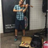 Photo taken at MTA Subway - 23rd St (F/M) by Kirsten P. on 9/23/2016
