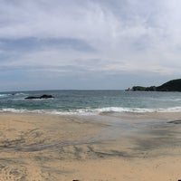 Photo taken at Playa Mazunte by Osi V. on 8/3/2018