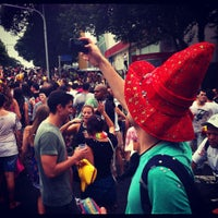 Photo taken at folia na vila madalena by lincoln p. on 2/9/2013