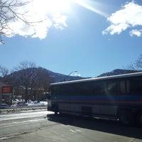Photo taken at Boulder Transit Center by cody d. on 2/28/2013