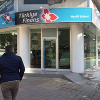 Photo taken at Türkiye Finans by Eyup E. on 1/28/2016