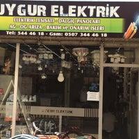 Photo taken at UYGUR ELEKTRİK AVİZE AYDINLATMA by Emre U. on 8/1/2015