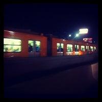 Photo taken at Metro Tepalcates (Línea A) by Ricardo Israel L. on 10/20/2012