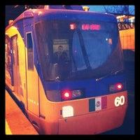 Photo taken at Metro Tepalcates (Línea A) by Ricardo Israel L. on 9/21/2012
