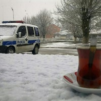 Photo taken at Kıraç Polis Merkezi Amirliği by Burcum on 1/4/2016