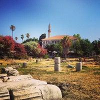 Photo taken at Ancient Agora by Julia V. on 7/9/2013