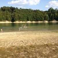 Photo taken at Garaško jezero by Nikola Z. on 8/4/2013
