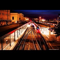 Photo taken at Stazione Bologna Centrale by Associazione Succede solo a B. on 11/17/2012