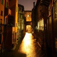 Photo taken at La piccola Venezia - Finestra Sul Reno by Associazione Succede solo a B. on 1/28/2013