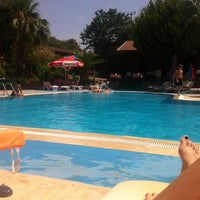 Photo taken at Pink Palace Hotel Pool by Yudum A. on 6/30/2014
