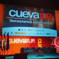 Photo taken at Teatro Sierra de Aracena by Luis Miguel R. on 10/2/2014