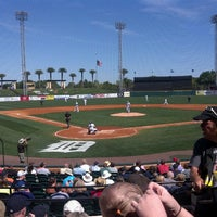 Photo taken at Publix Field at Joker Marchant Stadium by Pamela Z. on 3/13/2013