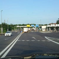 Photo taken at A14 - Imola by PubliOne Milano Napoli Forlì L. on 6/13/2013