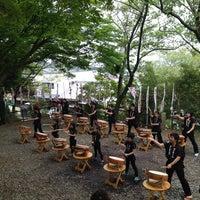 Das Foto wurde bei 白山神社 von shoes am 4/20/2014 aufgenommen