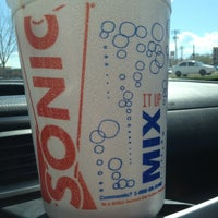 Photo taken at SONIC Drive In by Gabe G. on 4/3/2013