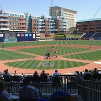 Photo taken at Durham Bulls Athletic Park by Kevin J. on 4/10/2013
