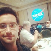 Photo taken at Dine With An Astronaut by Cesar Augusto N. on 9/5/2014