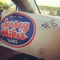Photo taken at Jersey Mike's Subs by Josh S. on 10/5/2012