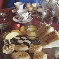 Photo taken at Elizabeth & Alexander's English  Tea Room by Josh S. on 9/15/2015