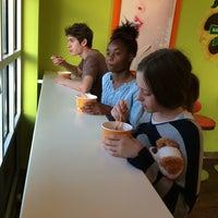 Photo taken at Orange Leaf Frozen Yogurt by Rachel D. on 7/1/2014