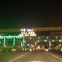 Photo taken at Seoul Toll Gate by Seung H. on 2/9/2013