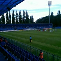 Photo taken at Štadión FK Senica by Jozef B. on 7/11/2015
