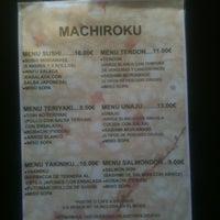 Photo taken at Machiroku by Enrique P. on 6/4/2013