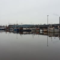 Photo taken at Kalasatama / Fiskehamnen by Capo D. on 11/3/2012