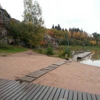 Снимок сделан в Pikkukosken uimaranta пользователем Capo D. 9/30/2012