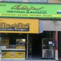 Photo taken at Restoran Al Barakah (Arabic Cuisine) by Mohd Rasyidi on 7/17/2013
