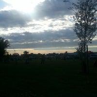 Photo taken at Saturn Playground White Oaks by Jason P. on 7/1/2014